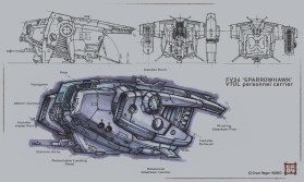 176-vaisseaux design concept dessin