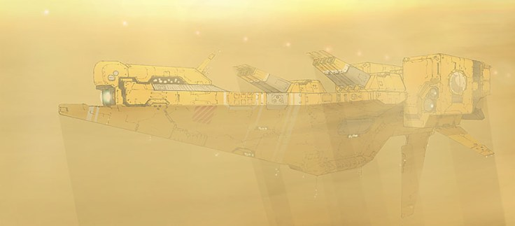 181-vaisseaux design concept dessin