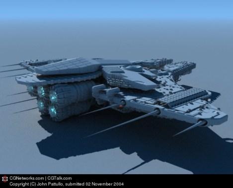 30-vaisseaux design concept dessin
