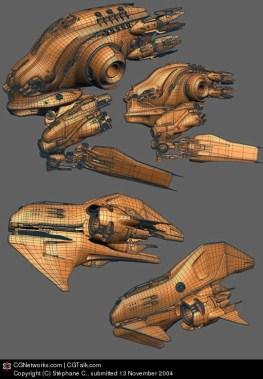 31-vaisseaux design concept dessin