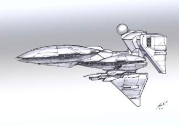 44-vaisseaux design concept dessin