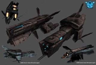 47-vaisseaux design concept dessin