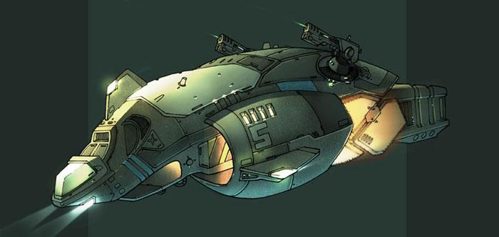 60-vaisseaux design concept dessin