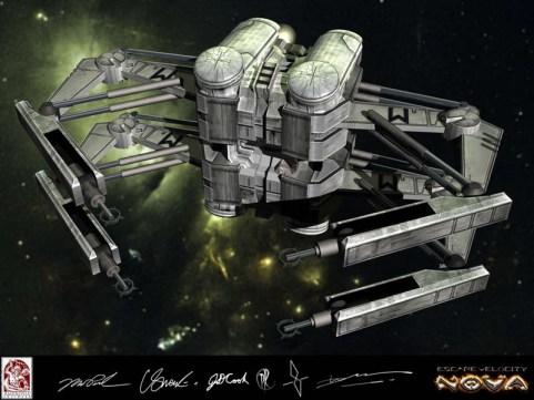 63-vaisseaux design concept dessin