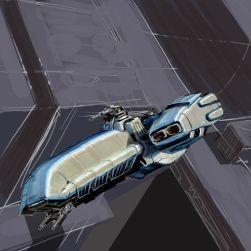 84-vaisseaux design concept dessin