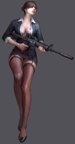 counter strike online anime fille