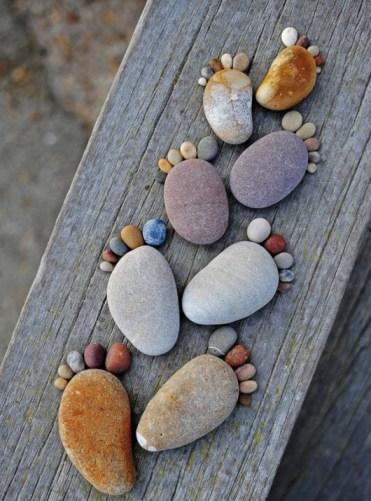 pied pas pierres
