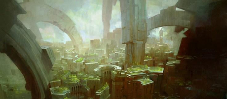 ville dessin