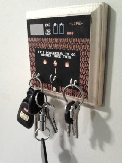 porte clefs zelda