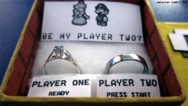 demande en mariage geek