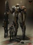 trevor_robot femme soldat