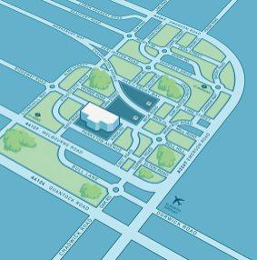 design carte itineraire 3d