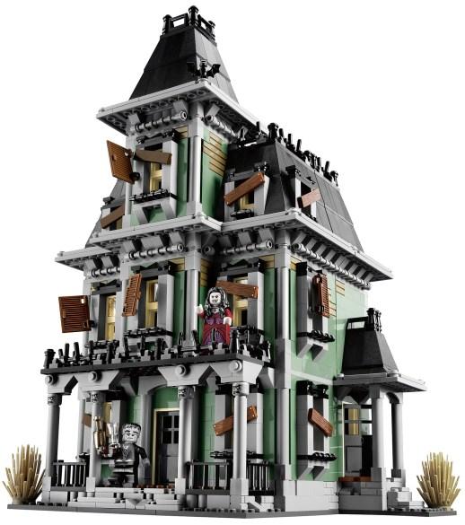 maison halloween lego