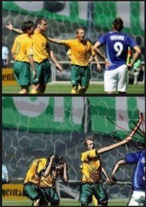 bras geant footballer