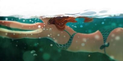 undersea dessin sous eau