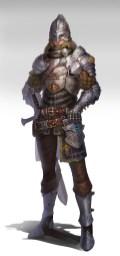 chevalier dessin