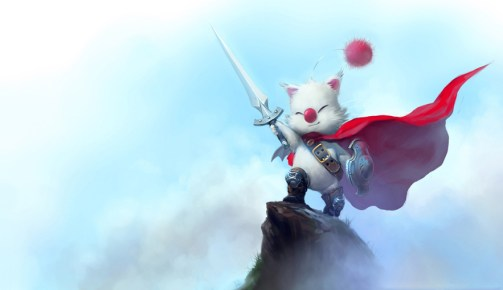 dessin jeu video moogle