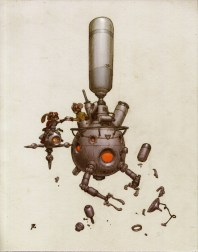 robot dessin