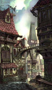 desisn vieille rue -The Old Street par antTON