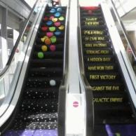 star wars escalator