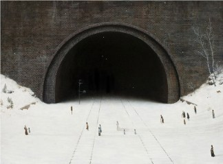tunnel- The-Wedding-Party-par-Aron-wiesenfeld