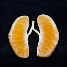 poumon mandarine
