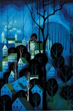 Eyvind Earle midnight-blue-1983