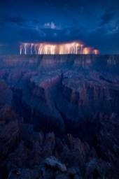 orage grand canyon