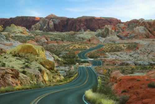 route desert