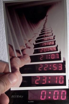 horloge mise en abyme