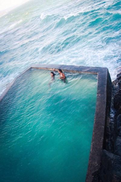 piscine bord de mer roche