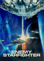 poster affiche enemy starfighter