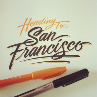 design logo dessin san francisco
