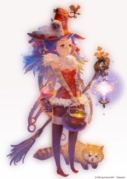 magicienne fille