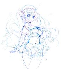 dessin manga fille