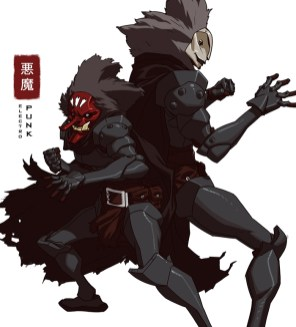 electropunk par jeffwamester ninja armure