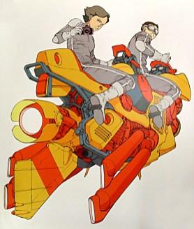 katsuhiro otomo art