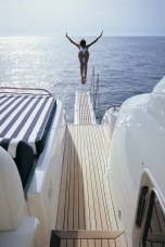 plongeon arriere yatch