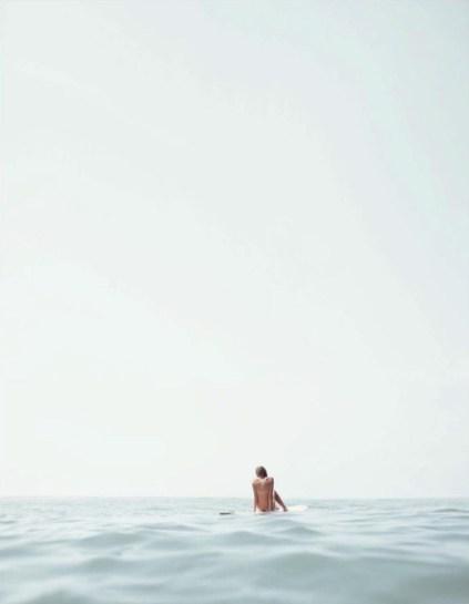 surfeuse mer