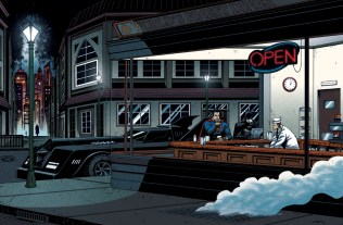 Edward Hopper batman superman