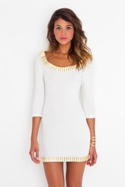 photo fille robe blanche
