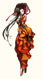 Blade & Soul NPC par Yagi