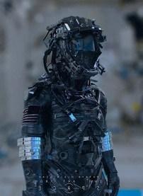 armure soldat futur