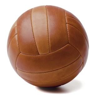 ballon en cuir