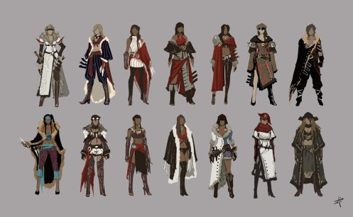dessin design personnages