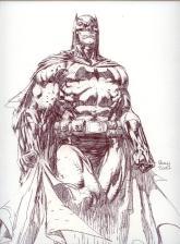 Batman Sketch -Finch Comic Expo 2007