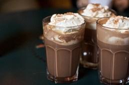 chocolat verre creme
