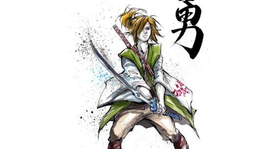 link samurai dessin
