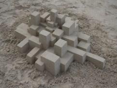 lowpoly sandcastle chateaux de sables 6