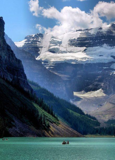 nature glacier lac